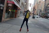NYにて学生旅行