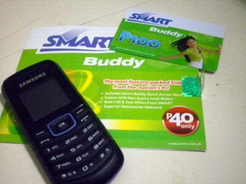 フィリピンの携帯セット
